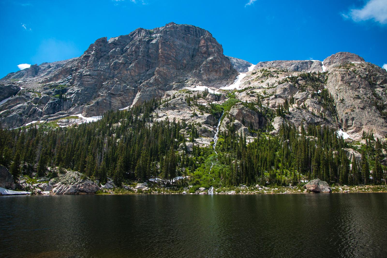 Copeland Mountain and Pear Lake