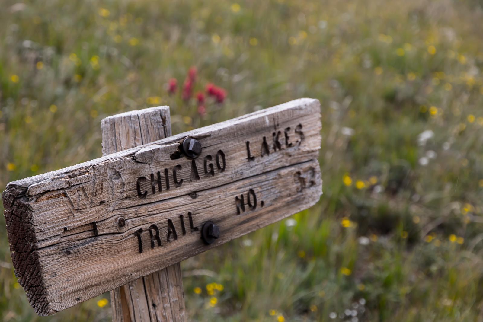 Chicago Lakes Trail No. 52